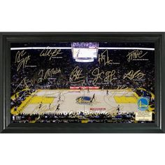 Highland Mint Golden State Warriors Signature Court
