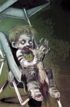 Cover art from Zombie Tales Arte Zombie, Zombie Art, Dead Zombie, Zombie Crafts, Zombie Pics, Arte Horror, Horror Art, Horror Movies, Creepy Art