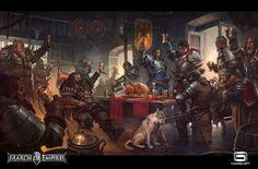 "March of Empires ""Thanksgiving"", Jaime Martinez on ArtStation at https://www.artstation.com/artwork/ad53R"