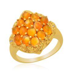 Orange opals