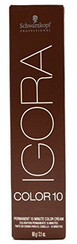 Schwarzkopf Professional Igora Color10 Hair Color - 5.5 - Light Brown Gold ** You can find out more details at the link of the image.