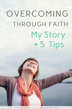 My story on overcoming through faith. Adversity, illness and more can be overcome through faith on our God most high. With spiritual tips to overcome. Christian Women Blogs, Christian Wife, Christian Faith, Christian Living, Walk By Faith, Faith In God, Biblical Marriage, Biblical Womanhood, Christian Motivation