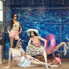 Going to the beach this weekend? Get some inspiration from our Camden window via @americanapparelUK #AmericanApparel