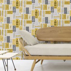 Wallpapers can be fun and funky  #wallpaper #interiordesign #fundesign