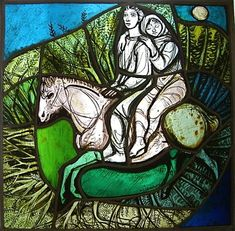Felix Hoffman - Swiss stained glass - Art dealer