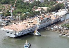 Picture of the INS Vikrant