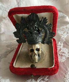 Check out this item in my Etsy shop https://www.etsy.com/uk/listing/479040646/antique-memento-mori-vanitas-19th