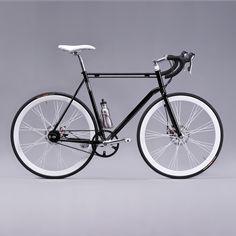 B/W bike to work