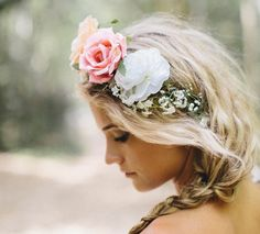 el taller de las cosas bonitas » Coronas de flores para bodas y novias