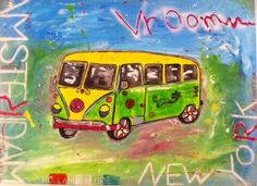 Vroom painting by LA