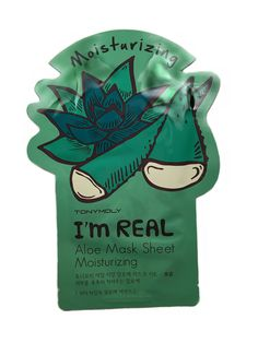 This Tony Moly I'm Real Aloe Mask Sheet is formulated with aloe vera to deeply hydrate and transform dull, dry skin into a healthier looking complexion in as little as 20 minutes. Subtle fragrance and