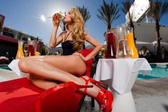 Pool Parties start on May 6, 2012 at Celebrity HotSpot Drai's Hollywood