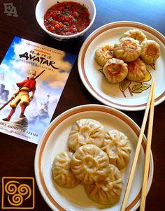 geek food Food Adventures (in fiction!): Vegetarian Momo (Dumplings) for quot;Avatar: The Last Airbenderquot; Cute Food, I Love Food, Yummy Food, Tasty, Drink Recipe Book, Food Porn, Comfort Food, Snacks Für Party, Food Themes