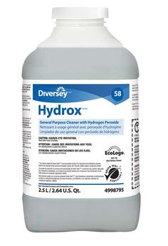 All-Purpose Cleaner Hydrox: All-purpose cleaner concentrate based on proprietary Accelerated Hydrogen Peroxide.
