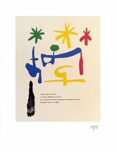 Miro. by Endless Forms Most Beautiful, via Flickr