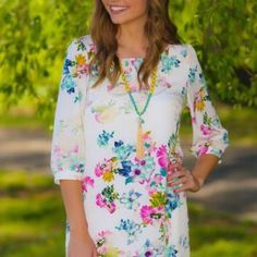 Floral Tunic/Dress Nwt