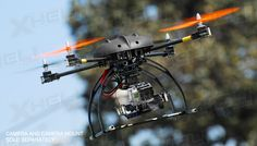 AeroSky C6 RC 6 Channel Carbon Quadcopter Almost Ready to Fly