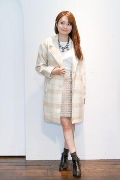 芸能人小林麗菜が王様のブランチで着用した衣装アウター