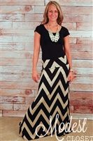 Tons of cute maxi skirts.