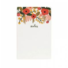 Fun Office Supplies to Buy in Honor of Back-to-School Season - Rifle Paper Co. notebook from InStyle.com