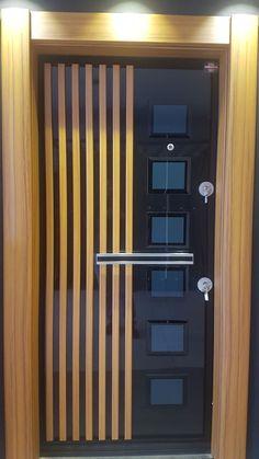 Door Design Interior, Interior Modern, Custom Wood Doors, Wooden Doors, Entrada Frontal, Modern Front Door, Wooden Door Design, Contemporary Doors, Grill Design