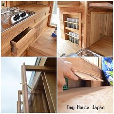 #tinyhouse #tinyhome #tinyhousemovement #microhome #traveltrailer #caravan #タイニーハウス #キャンピングトレーラー #モバイルハウス #ミニマリスト Japanese Style Tiny House, Micro House, Architecture, Tiny Homes, Design, Home Decor, House Ideas, Houses, Space