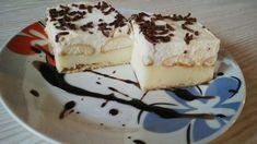 SUROVINY Těsto: 200 g listové těsto Nádivka 1: 500 ml mléko 2 bal. vanilkové pudinky 4 lžíce cukru 1