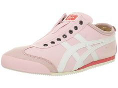 Onitsuka Tiger by Asics Mexico 66® Slip-On Light Pink/White - Zappos.com Free Shipping BOTH Ways