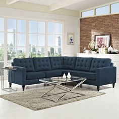 Found it at AllModern - Empress Sectional $1500