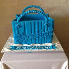 Shopkins cake from Three Sweeties! #cake #shopkins #birthday