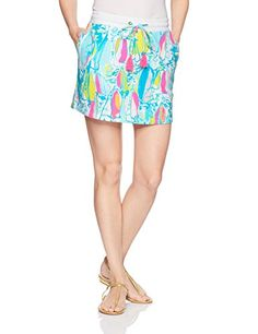 f25ea95d25 Women's Zia Skirt Beach and Bae Lilly Pulitzer, Skirt Fashion, Women  Jewelry, Amazon