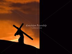 Good Friday PowerPoint ~ Carrying the Cross to Calvary ~ Powerful