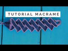 pulsera de hilo camino del inca tutorial macrame paso a paso - YouTube
