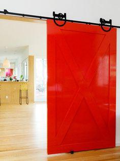 Painted doors (via Cup of Jo)
