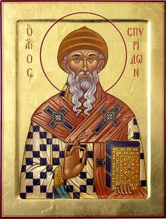 Heilige Spiridon.Святитель Спиридон Тримифунтский (Саламинский)