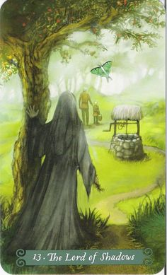 The Lord of Shadows (Death) - Green Witch Tarot