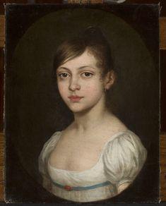 Portret Julii Cieślik, nieznany malarz polski