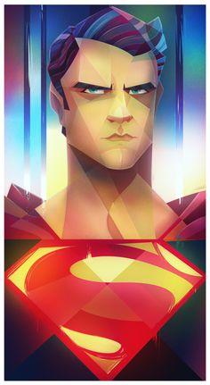 Man of Steel, #Character, #Drawings, #FanArt, #Movies & #TV, #Superhero, #Superman