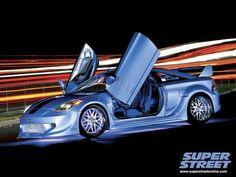 Аэродинамический обвес GT 300 APR Performance (вид спереди сбоку) (на сайте: http://www.celica-tuning.ru/products/komplekt_obvesa_dlya_toyota_celica_t23_0005_apr_style_wide_body_kit_ реплика 150500 руб. оригинал 378000 руб) Наверное самый дорогой аэродинамический обвес на Toyota Celica Т23