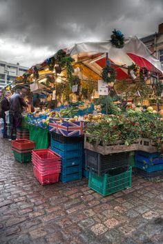 Fruit n' Veg Market, Cambridge, UK by benjaminjphoto, via 500px
