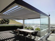 180 Linear Opening Roof - LouvreTec