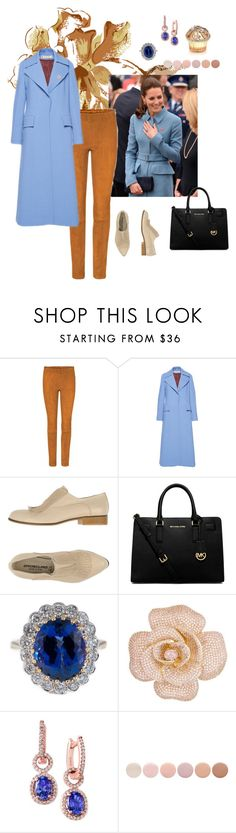 """kate . estilo a los 50."" by natavic ❤ liked on Polyvore featuring Alexander McQueen, STOULS, Nina Ricci, Oroscuro, MICHAEL Michael Kors, Kate Spade, Effy Jewelry, Deborah Lippmann and House of Sillage"