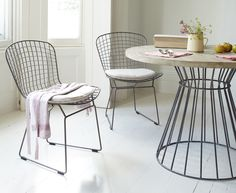 I love these chairs as desk chairs, used for dining chairs when people are round