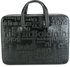 Baldinini embossed briefcase Briefcase, Emboss, Business, Bags, Men, Handbags, Medical Bag, Dime Bags, Briefcases
