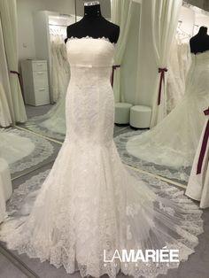 Amaya by Aire Barcelona Exclusively at La Mariée Budapest bridal Bridal Dresses, Wedding Gowns, Mermaid Wedding, Budapest, Fashion, Rosa Clara, Bride Dresses, Homecoming Dresses Straps, Moda