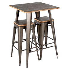 Claremont 3 Piece Pub Table Set & Reviews | AllModern