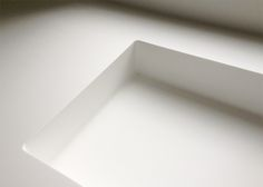Seamless HI-MACS sink. NOMAA|architectuur & interieur with Uil Interieurs.
