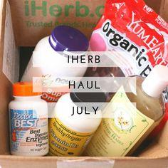 iHerb Haul July #iHerb #haul