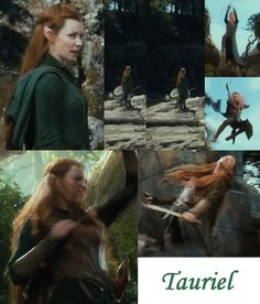 Shots of Tauriel's costume from the new Hobbit: DoS trailer! Some good details/clarification on how the different uniform pieces go together. I needed this!   Note: Pretty sure the picture in the bottom right is a different set of costume pieces than the other. She has two sets that are similar, but definitely not the same.