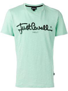 JUST CAVALLI Logo T-Shirt. #justcavalli #cloth #t-shirt